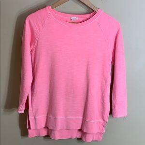 Crewcuts neon pink sweatshirt